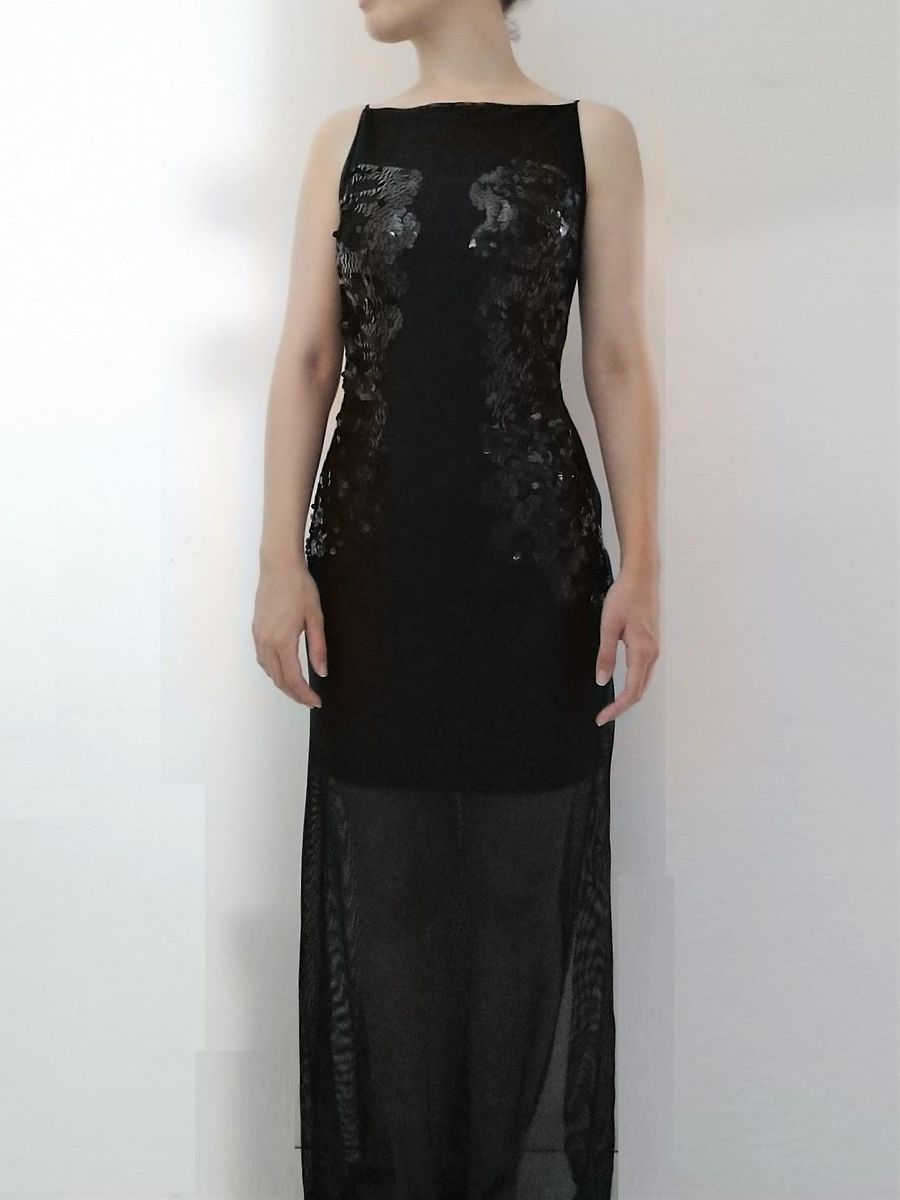 c85a1f670 vestido maravilhoso de festa preto longo - vestidos de festa alphorria a. cult