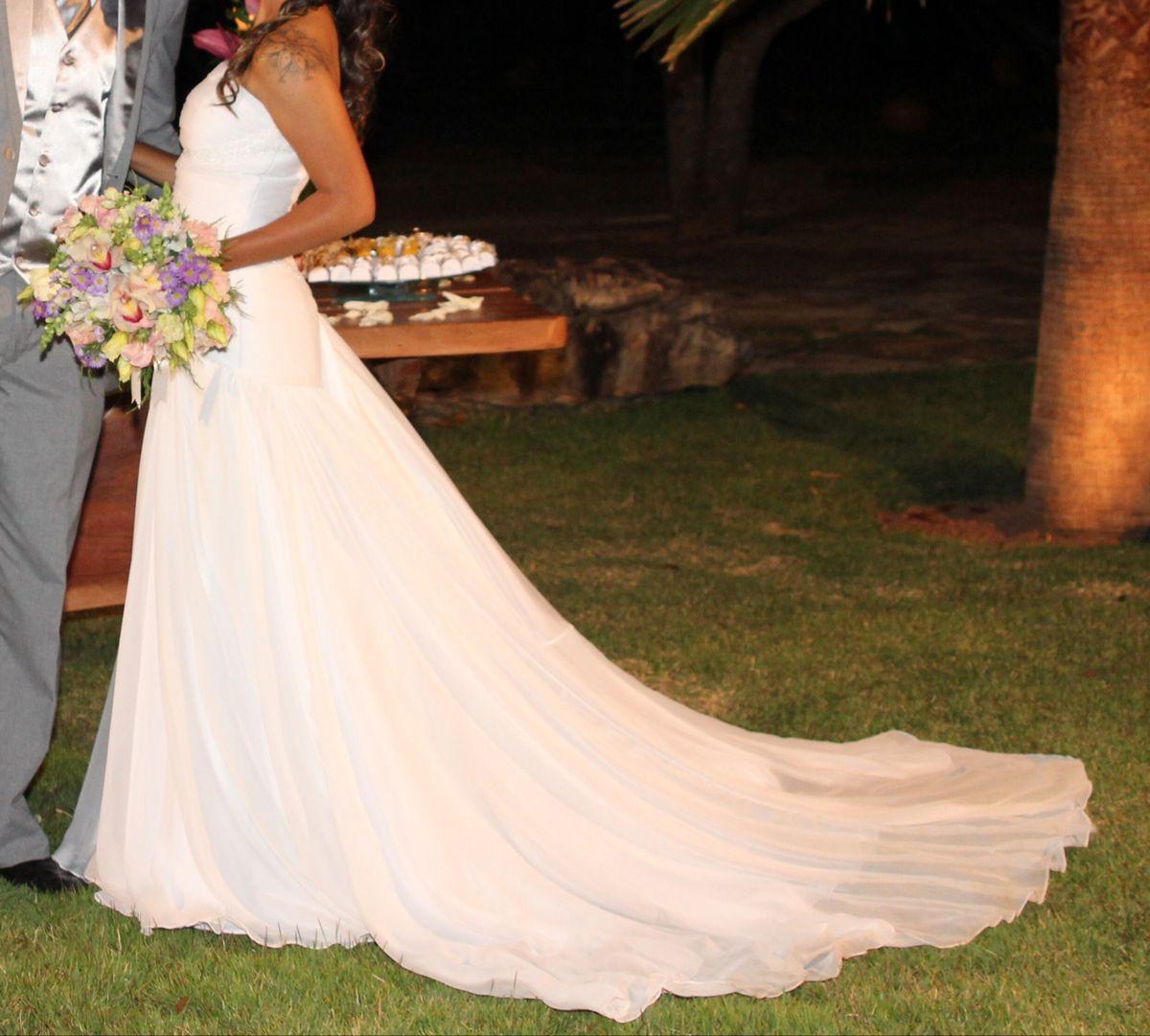 vestido noiva com calda longa - vestidos pro novia