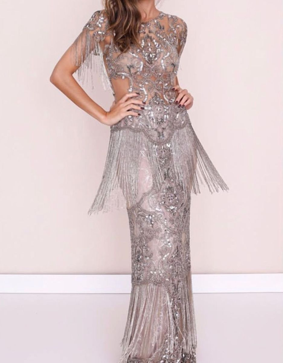 9841c827a vestido patrícia bonaldi bordado formatura festa - vestidos patricia-bonaldi