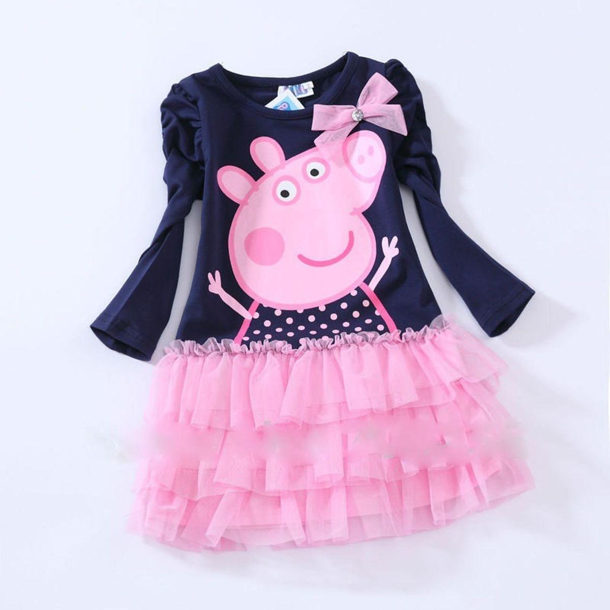 dc72832e2 Vestido Peppa Pig 5 Anos   Roupa Infantil para Menina Peppa Pig Nunca Usado  1011441   enjoei