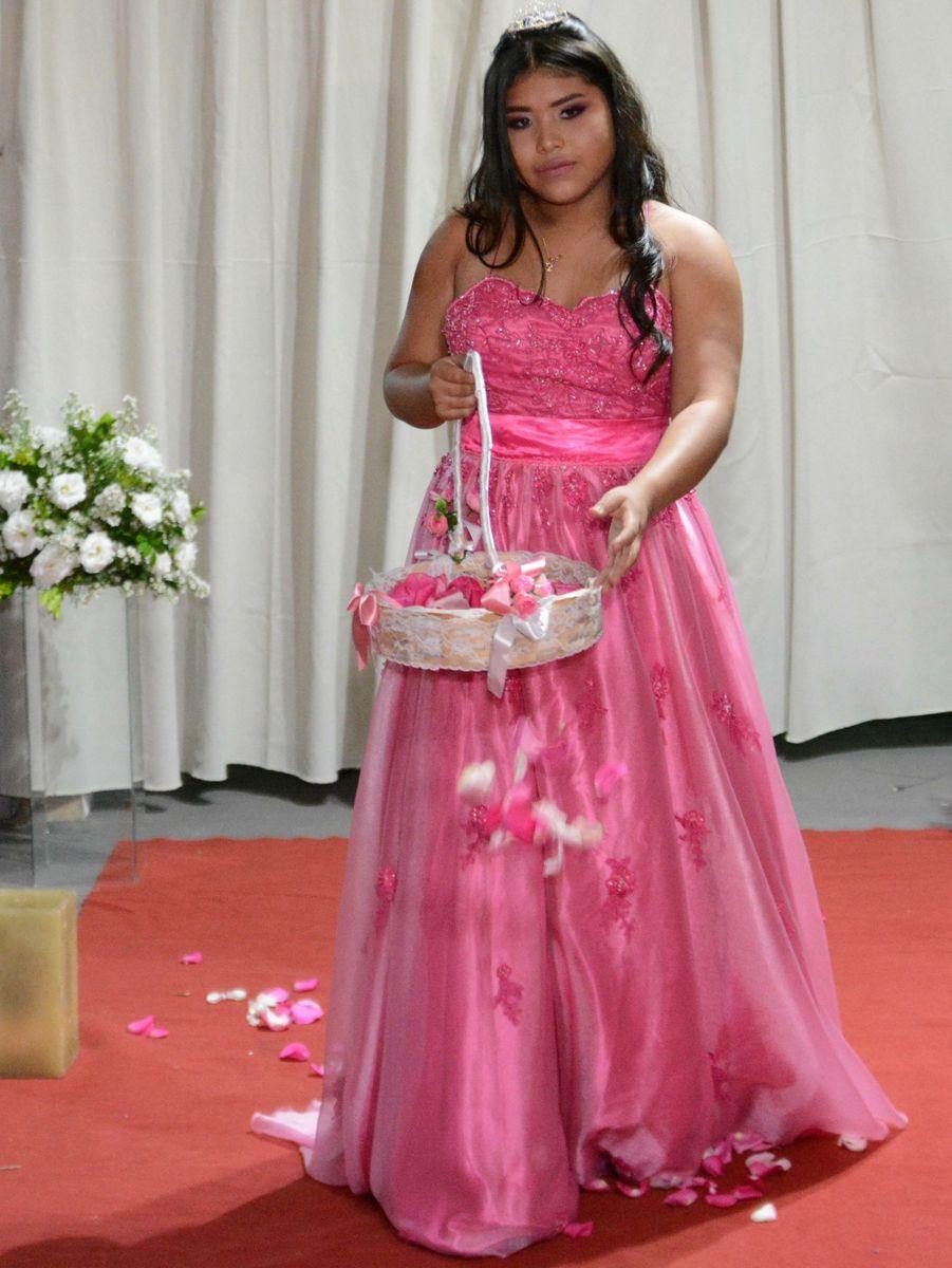 37a698382 vestido pink 15 anos - vestidos de festa sem marca