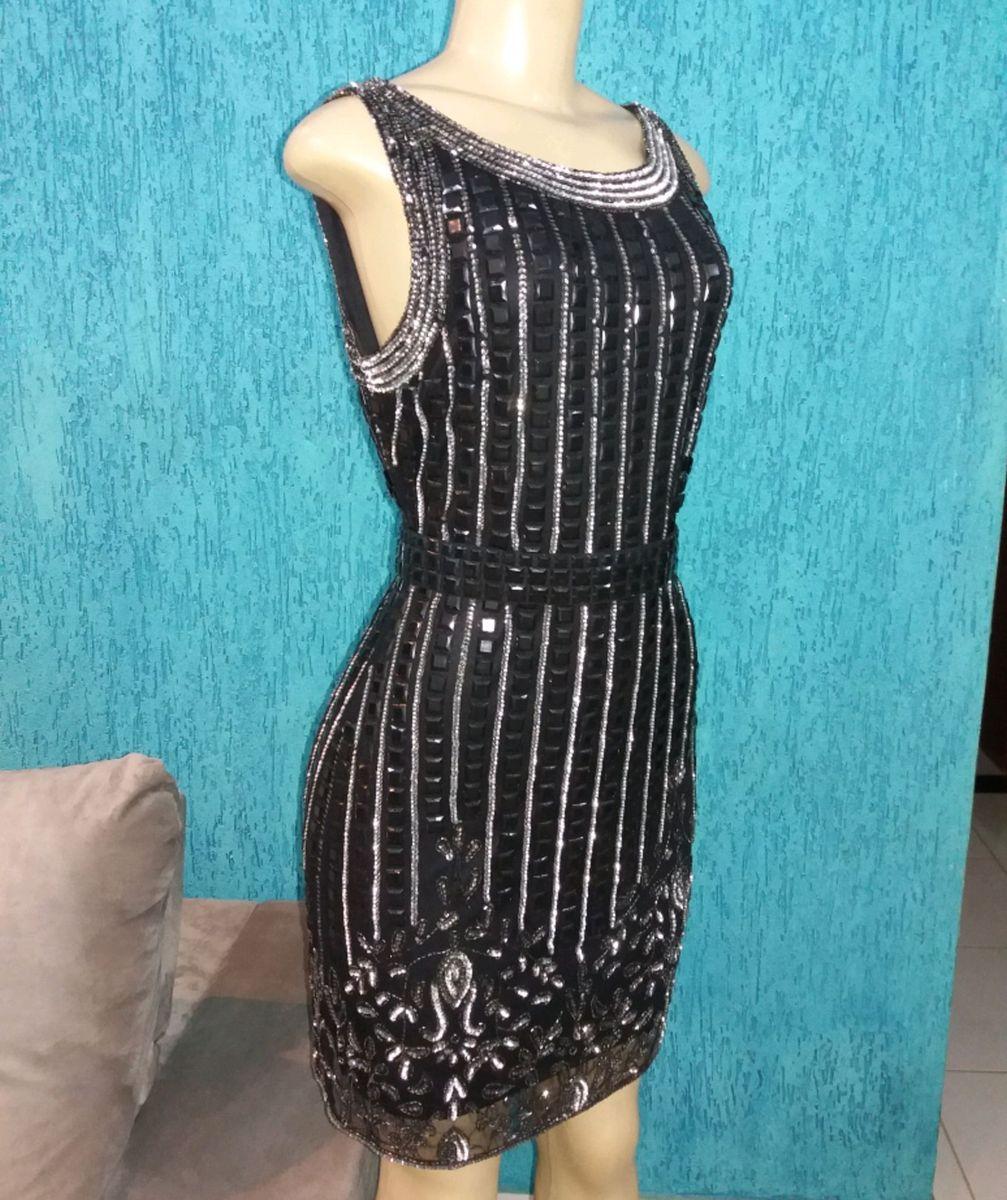 3069f0755 vestido preto bordado com pedraria - vestidos de festa divina-pele