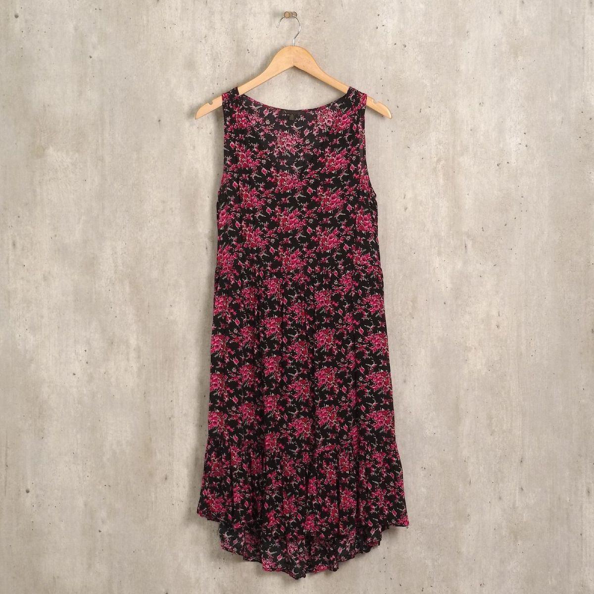 vestido preto com rosas - vestidos lucca couture