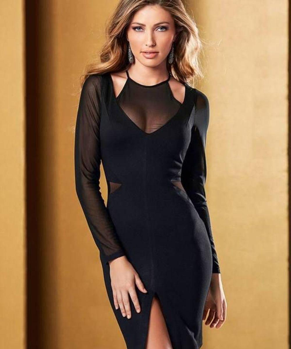 1ed6ceea9 vestido preto com tule - vestidos bonprix.  Czm6ly9wag90b3muzw5qb2vplmnvbs5ici9wcm9kdwn0cy81mdyymze2lzq4zjhkmznlzdrhzdcxnzy2zdu2y2ywntbin2izowjhlmpwzw