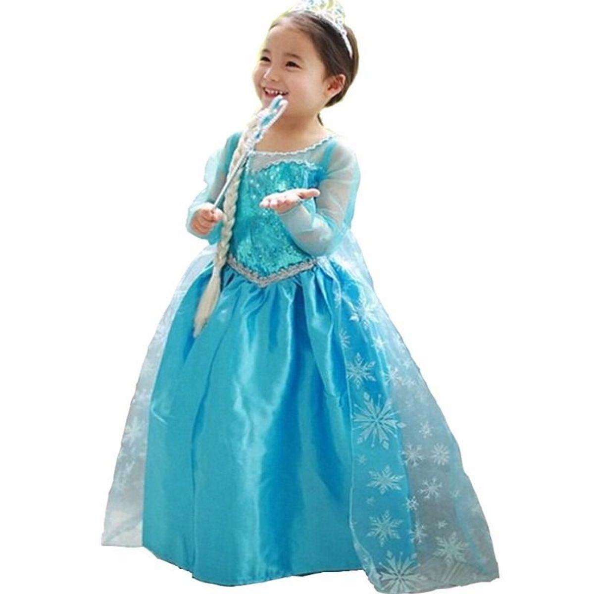 250e951c1 Vestido Princesa Elsa Anna Frozen Infantil Festa Aniversário | Roupa  Infantil para Menina Disney Nunca Usado 31738153 | enjoei