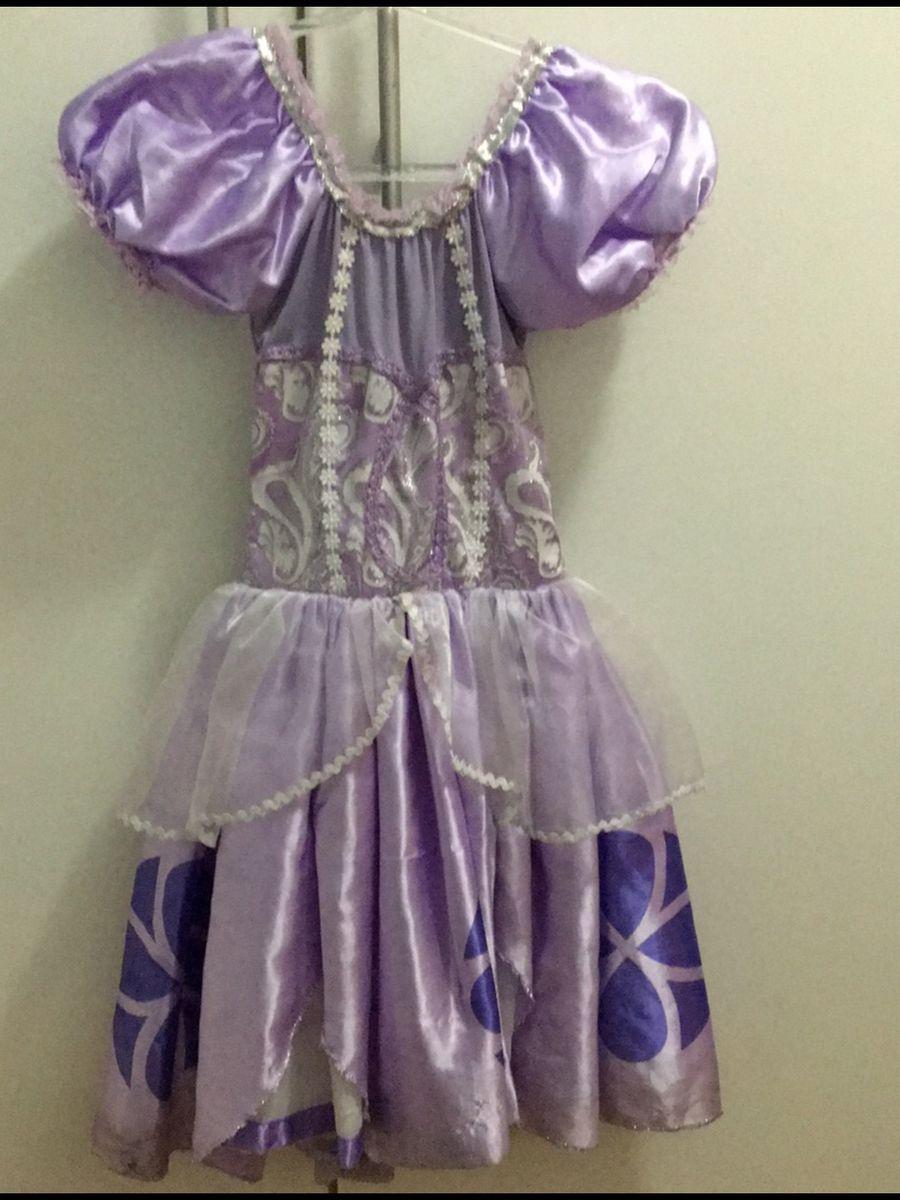 Vestido Princesa Sophia