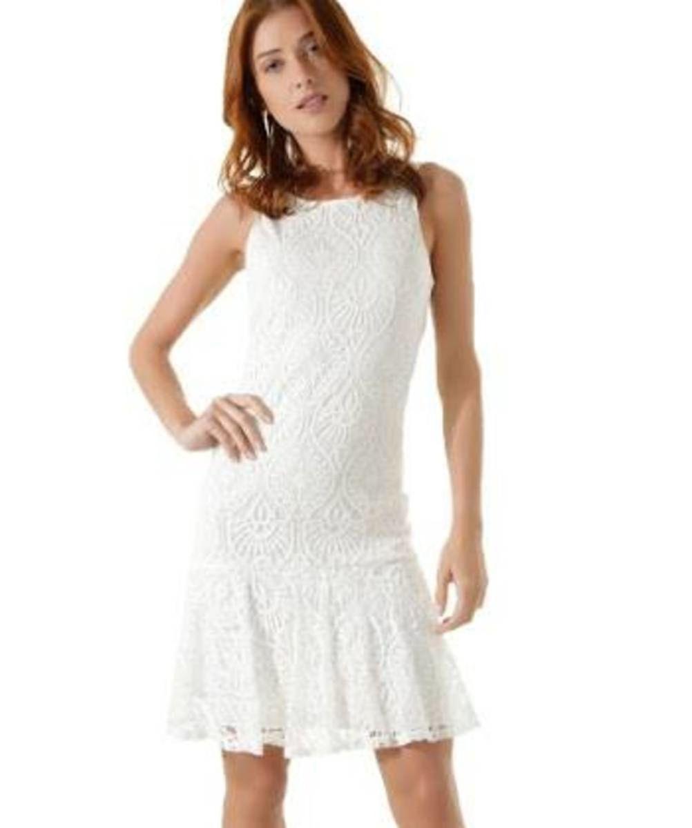 a5f2c4735 vestido renda guipir iodice/estilo farm, colcci, zara - vestidos iodice