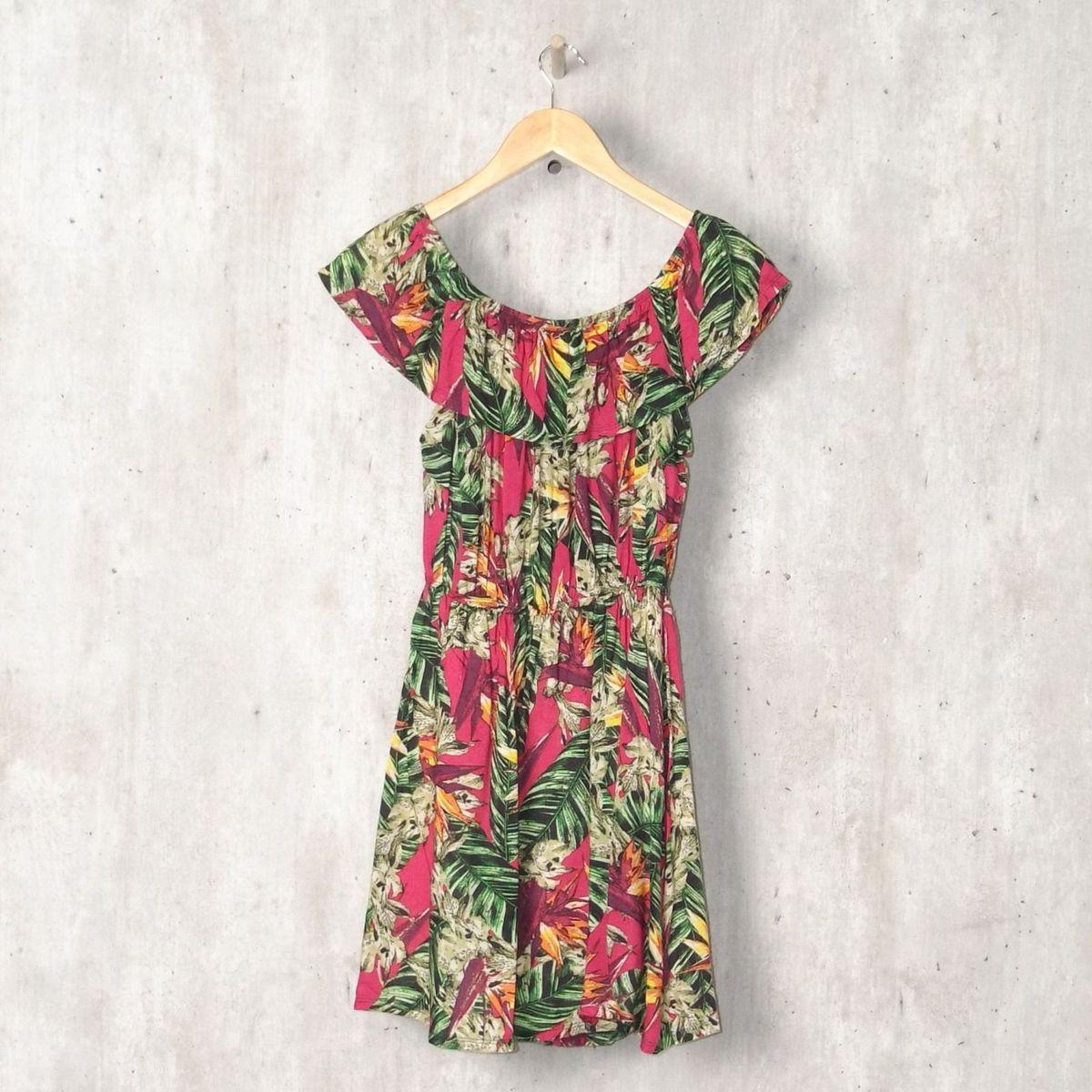 dad3de3be Vestido Rosa Estampado | Vestido Feminino Dafiti Usado 30272838 | enjoei