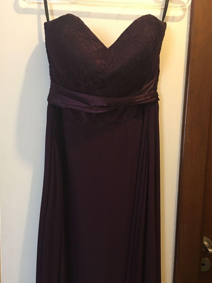vestido roxo - vestidos tht