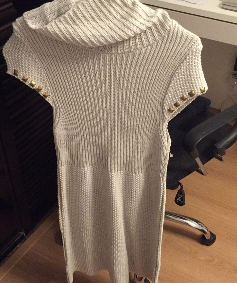 vestido trico com spikes - vestidos ralm
