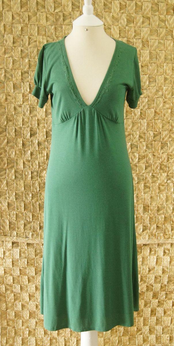 vestido verde - vestidos mob