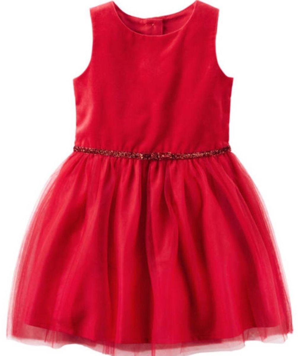 70ec5e03d5 vestido vermelho bebê festa 2 tafetá - menina carters