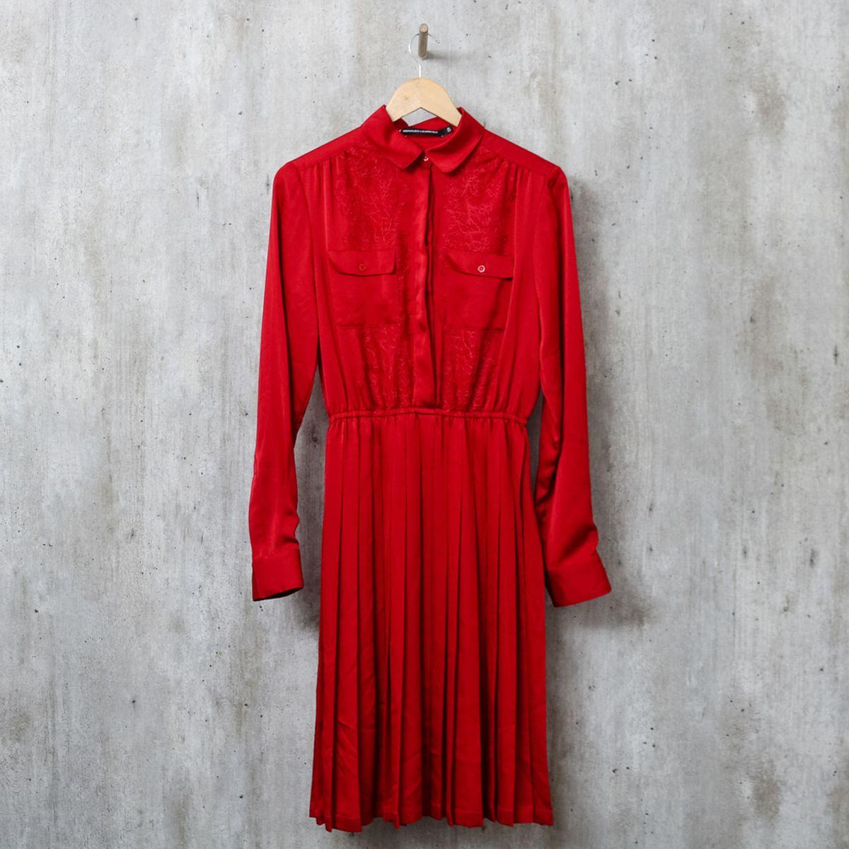 e5d23ca57 Vestido Vermelho Lourenço | Vestido Feminino Reinaldo Lourenço Nunca ...