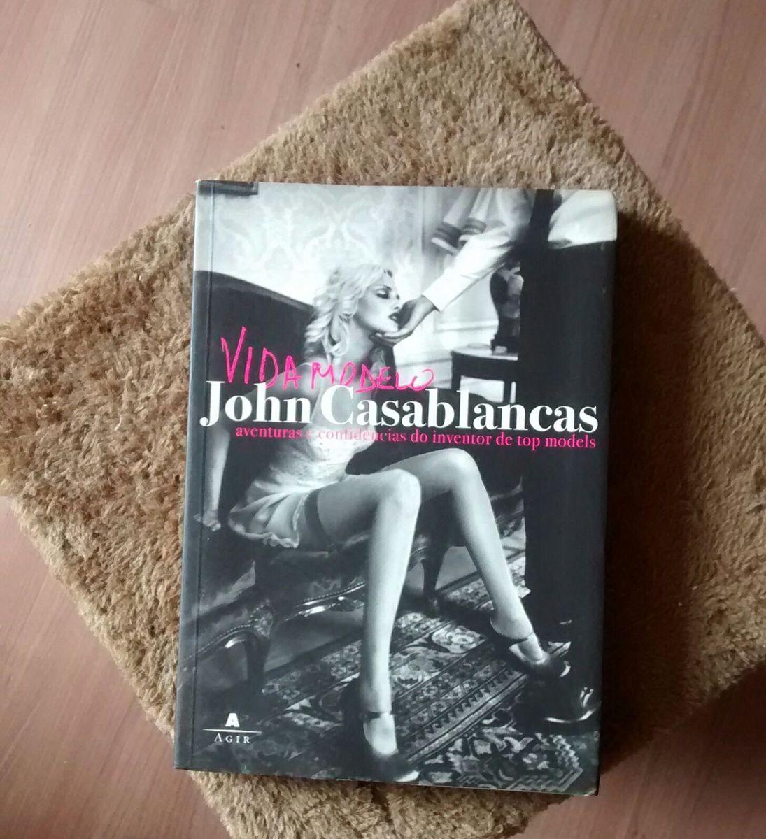 vida modelo by john casablancas - livraria sem marca