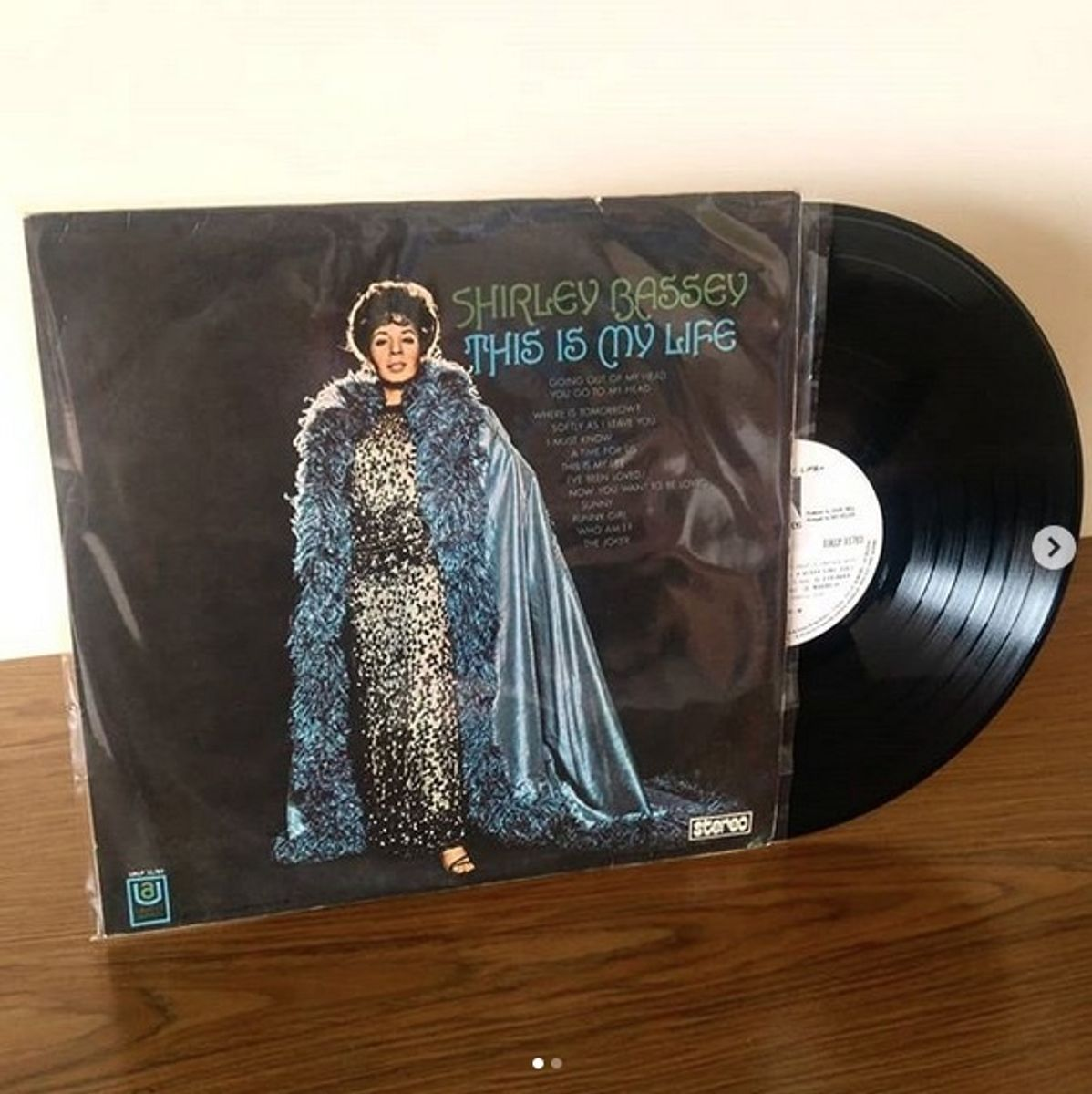 vinil lp shirley bassey - this is my life - antiquário shirley bassey