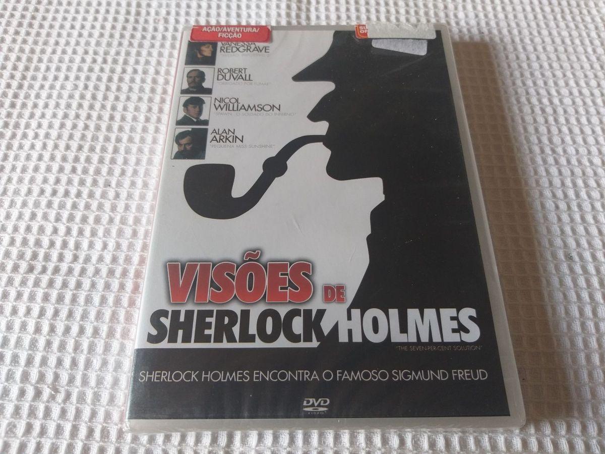 Visões de Sherlock Holmes Lacrado Dvd Legendado | Filme e Série Dvd Nunca  Usado 42156667 | enjoei